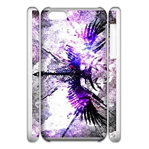 angel symbol iphone 5c Cell Phone Case 3D White PSOC6002625683198