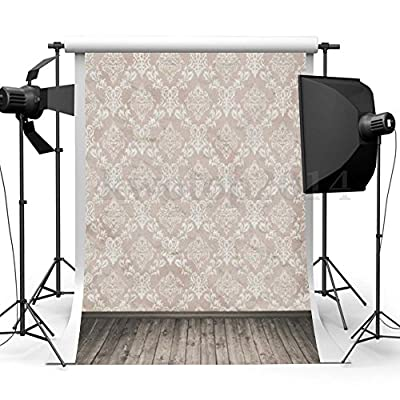 3x5ft NEW Vinyl Brick Wall Photography Background 3D Chic Wall Paper & Wooden Floor Scene Backdrops Photo Studio Props