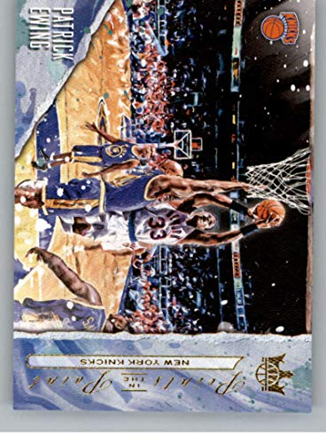 2018-19 Court Kings Points in the Paint Basketball #15 Patrick Ewing New York Knicks Official NBA Trading Card From Panini America