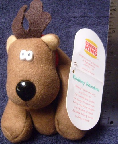 1987 Vintage Burger King Rodney Reindeer & Friends from Hallmark--RODNEY by Burger King-Hallmark - 51zRZa7d7TL - 1987 Vintage Burger King Rodney Reindeer & Friends from Hallmark–RODNEY by Burger King-Hallmark