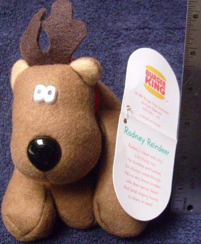 1987-Vintage-Burger-King-Rodney-Reindeer-Friends-from-Hallmark-RODNEY-by-Burger-King-Hallmark