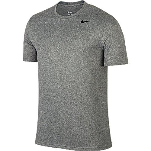 ナイキNIKE ナイキ DRI-FIT レジェンド S/S Tシャツ (063)ダークグレーヘザー/ブラック/(ブラック) NJP-718834-063  サイズ M