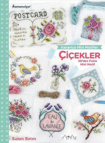 Cross Stitch Mini Motifs: Flowers: More Than 50 Mini Motifs