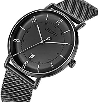 JEDIR Classic Simple Mens Slim Quartz Watch
