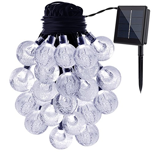 Outdoor Led Ball Lights White - 4