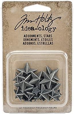 Advantus Tim Holtz Ideaology Adornments Stars