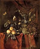 50 shades of grey wine - Oil Painting 'Willem Van Aelst,Fruit And A Glass Of Wine,1627-1683' Printing On High Quality Polyster Canvas , 16x20 Inch / 41x50 Cm ,the Best Dining Room Artwork And Home Gallery Art And Gifts Is This Imitations Art DecorativeCanvas Prints