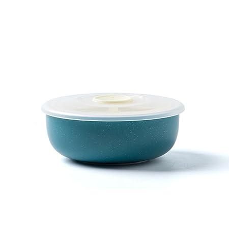 Cuenco, fiambreras de cerámica con tapa, horno de microondas ...