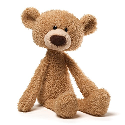 GUND Toothpick Teddy Bear Stuffed Animal Plush, Beige, 15″
