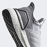 adidas Women's Ultraboost 19, Crystal White/Grey, 8