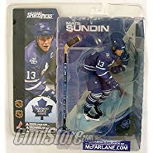McFarlane NHL Series 1 Action Figure: Mats Sundin Toronto Maple Leafs (Regular Blue Jersey)