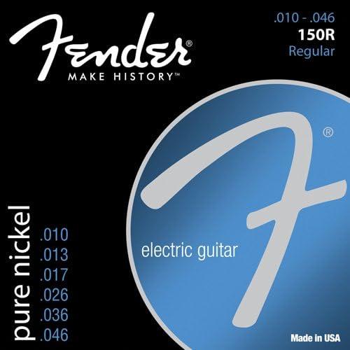 Fender 150R Pure Nickel Electric Guitar Strings