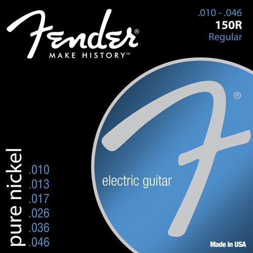 Fender 150r Pure Nickel Electric Guitar Strings