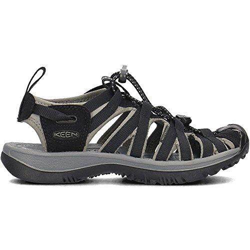 Keen Women's Whisper Hiking Sandals Black/Gargoyle QPNurb