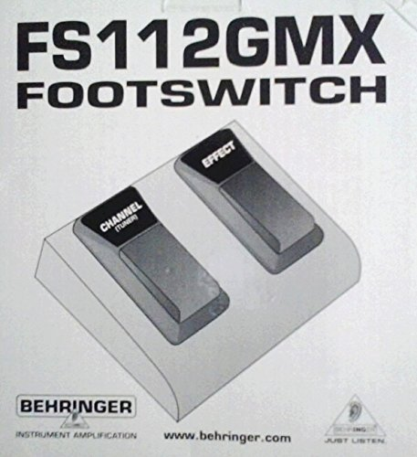 Behringer FS112GMX Dual Footswitch