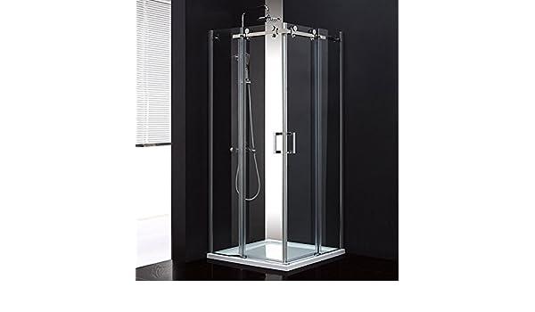 Lux ducha cabina de ducha de Aqua foldersys Color para puerta (8 mm de vidrio 80 cm) MSST408: Amazon.es: Bricolaje y herramientas