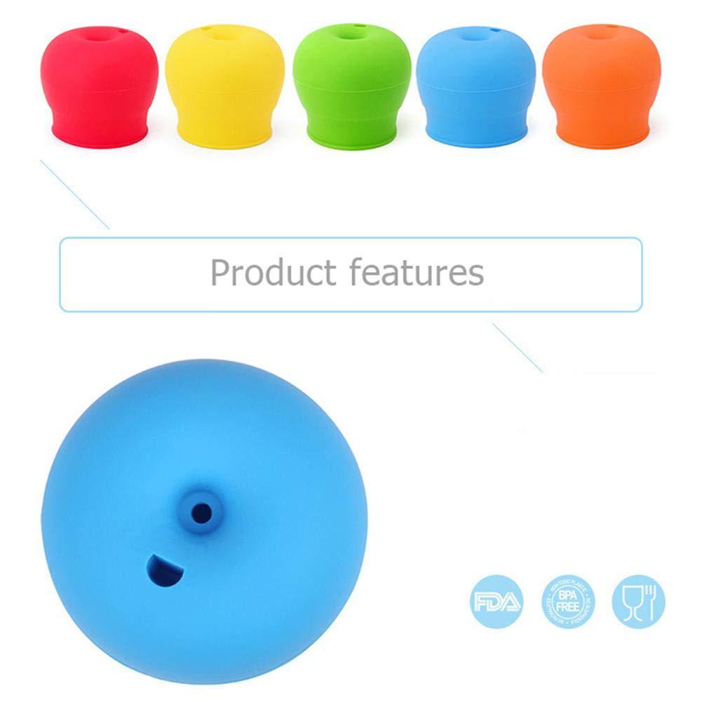 el/ásticas para ni/ños a prueba de fugas AFfeco Tapas de silicona para beb/és