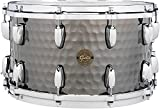 Gretsch Drums Hammered Black Steel Snare 14 x 8 in.