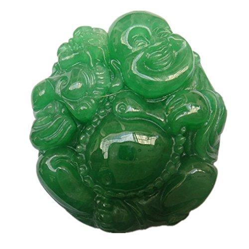 Natural Jade Laughing Buddha Maitreya Bu - Luck Buddha Pendant Shopping Results