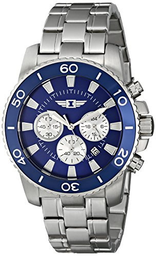 I By  Men's 43619-002 Stainless Steel Watch