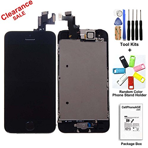 iphone 5s replacement screen cellphoneage replacement lcd display for iphone 5s with 14855