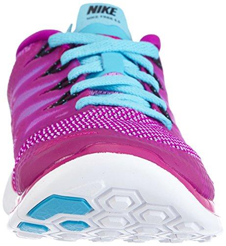 Nike  Free 5.0 - Zapatillas para mujer Morado - Violett (Fuchsia Flash/Clrwtr/Fchs Glw)