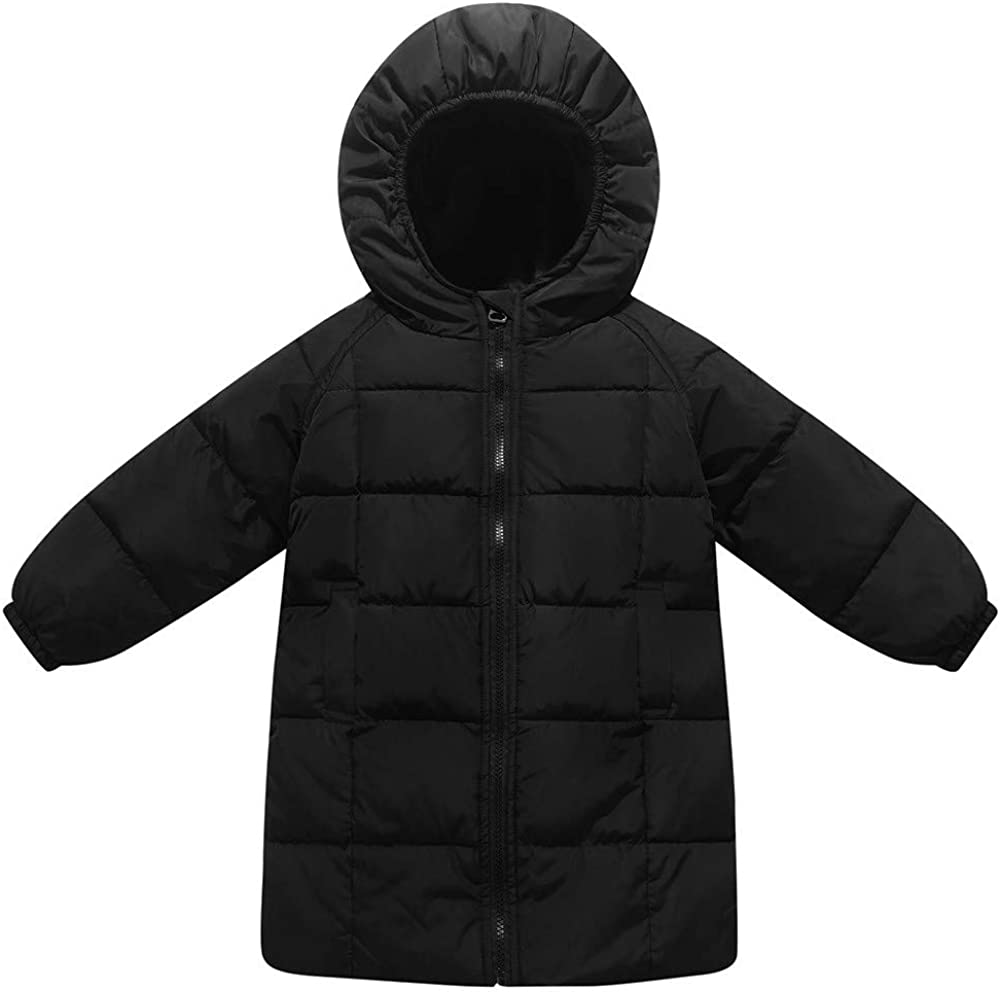 Winter Hooded Coat Cloak Jacket Thick Warm Outerwear Clothes Willsa Baby Girls Jacket