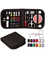 SAYGOGO Sewing Kit, Multi-Function Sewing Kit, Portable Sewing Box Set, Needle Set for Home, Travel and Emergency, Best Kids, Girls, Beginners & Adults