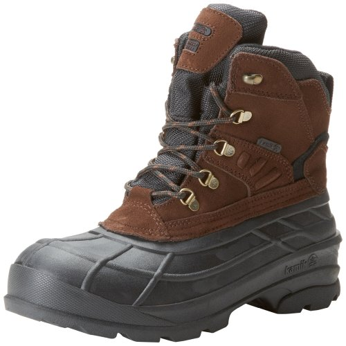 Kamik Men's Fargo Snow Boot,Dark Brown,10 M US