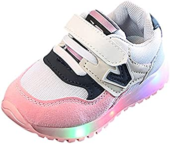 Children Kids Sport Shoes Boys Girls Bandage Sneakers Sequin Running Flats Shoes