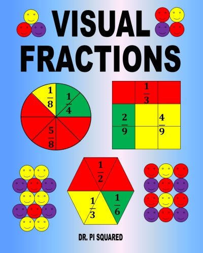 buy visual fractions a beginning fractions book book online at low