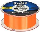 Sufix Siege 330-Yards Spool Size Fishing Line (Tangerine, 6-Pound)