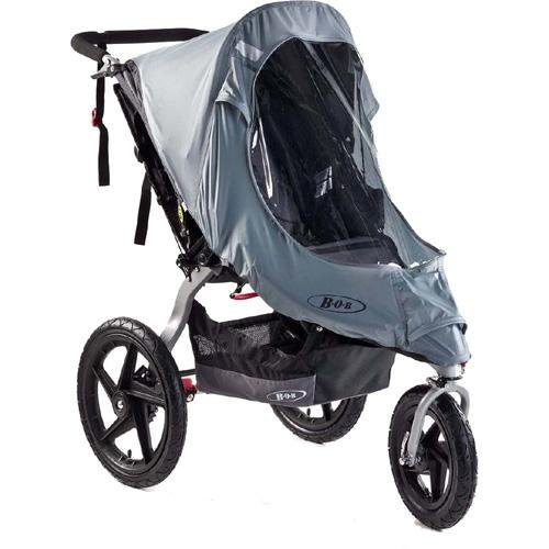 Bob Weather Shield for Single Revolution/Stroller Strides Models, Gray