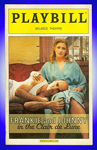 Frankie and Johnny in the Clair de Lune, Broadway playbill + Edie Falco , Stanley Tucci (Frankie & Johnny In The Clair De Lune)