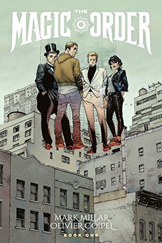 Pdf Graphic Novels The Magic Order Volume 1