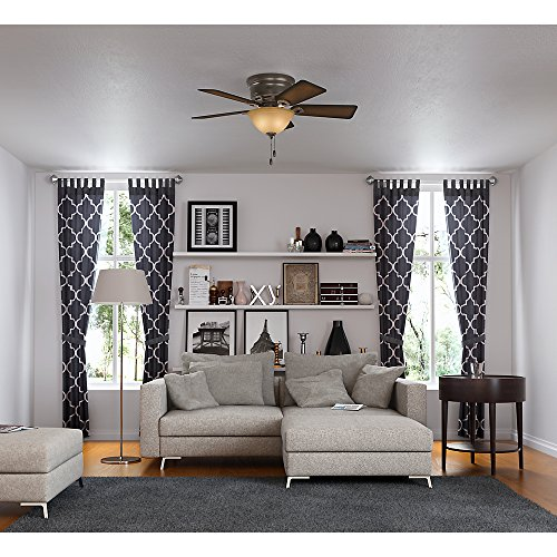 Hunter 51023 Conroy 42-Inch Onyx Bengal Ceiling Fan with Five Burnished Mahogany Blades and a Light Kit by Hunter Fan Company (Image #6)