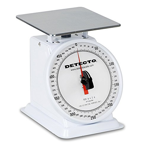 Detecto Top Loading Portion Scales Mechanical, 500 Grams