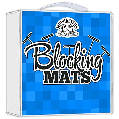 Hephaestus Crafts Blocking Mats For Knitting Pack Of 9