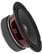 "$38 » DS18 PRO-X6M Loudspeaker - 6.5"", Midrange, Red Aluminum Bullet, 500W Max, 250W RMS, 4 Ohms - Premium Quality Audio Door Speakers for Car or Truck Stereo Sound System (1 Speaker)"