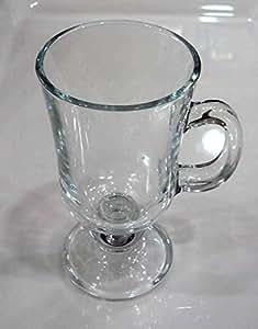 Paşabahçe Irish Coffee Kulplu Bardak, Sade, 230 ml, 2 Parça