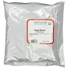 Frontier Garam Masala Certified Organic, 16 Ounce Bag