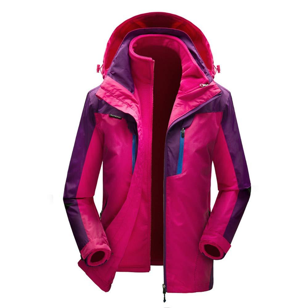 AiNaMei Frauen im Freien Jacken verdicken Skianzüge