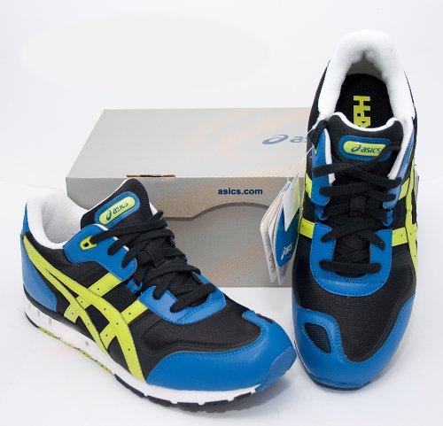 Asics - Zapatillas de running para hombre BLACK/LIME GREEN