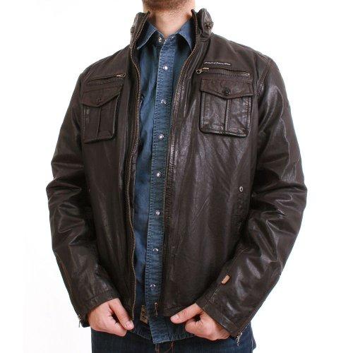 M.o.d veste pour homme-wI12 lJ501 --marron