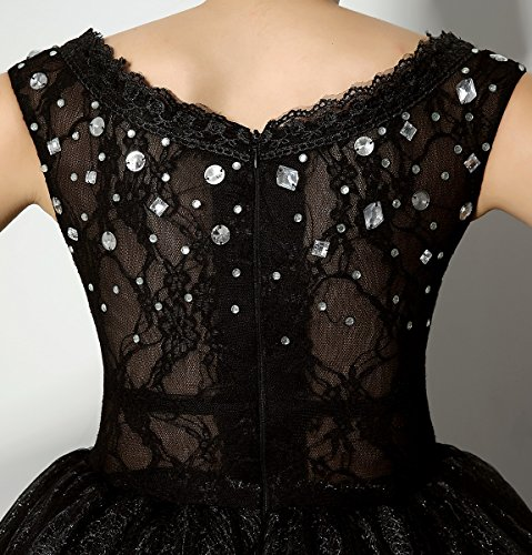 Love Dress Beading Black Short Prom Dress Party Gown Us 16 by Love To Dress (Image #4)