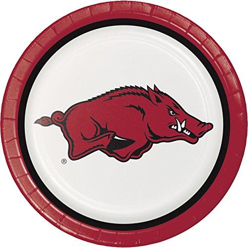University of Arkansas Paper Plates, 24 ct