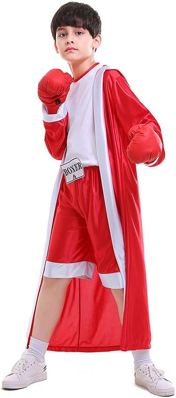 StarDY Disfraz de Boxeador para niños y niños, Color Rojo y Azul ...
