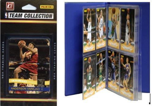 NBA Cleveland Cavaliers Licensed 2010-11 Donruss Team Set Plus Storage Album