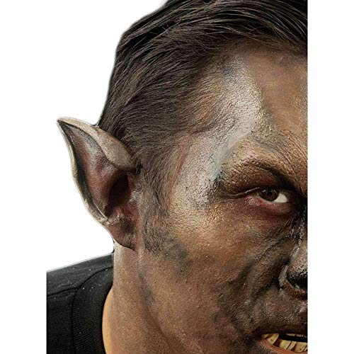 Wolf Halloween Makeup Man (Woochie Classic Latex Ears - Professional Quality Halloween Costume Makeup -)