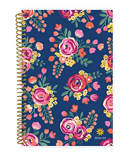 bloom daily planners 2019-2020 Academic Year Day Planner Calendar (August 2019 Through July 2020) - 6' x 8.25' - Weekly/Monthly Yearly Agenda Organizer with Tabs - Vintage Floral